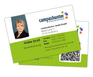 Die Visitenkarte Campushunter