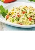 Currywurst & Pommes oder Couscous mit Gemüse?